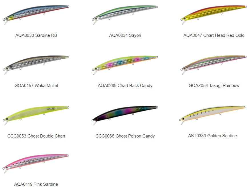 Duo Tide Minnow 145 SLD-S Color CCC0066 Ghost Poison Candy